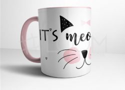 Caneca – It's meow time