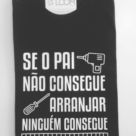 T-shirt Dia do Pai