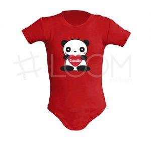 Body - Panda com Coração