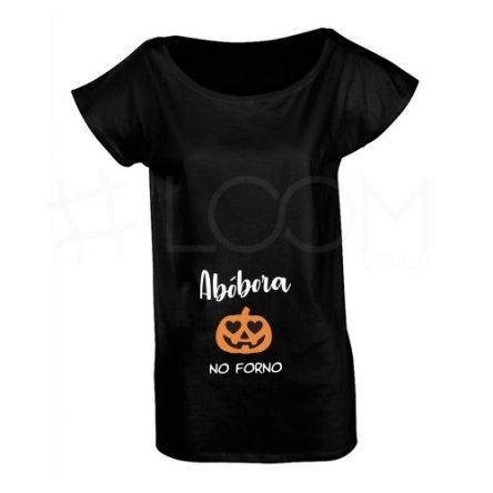 T-shirt Grávida – Abóbora no Forno