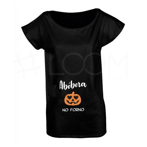 T-Shirt Grávida - Abóbora no Forno
