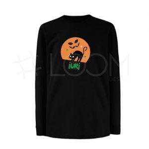 T-shirt Halloween - Gato