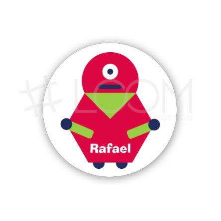 Crachá Robots – R3