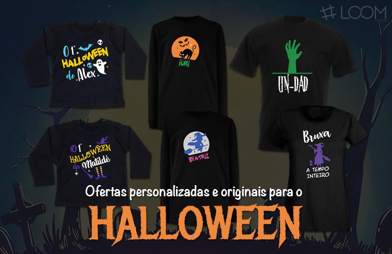 Loja Loom Design - Ofertas Halloween